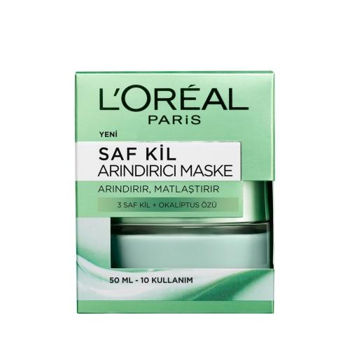 L'Oréal Paris Saf Kil Arındırıcı Maskesi 50 Ml