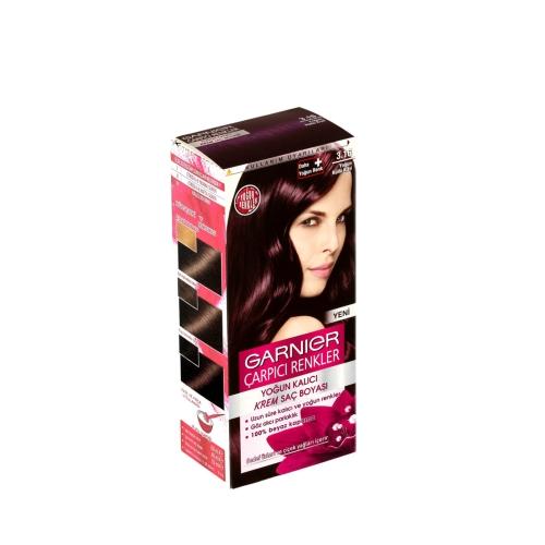 Garnier Çarpıcı Renkler Saç Boyası 3-16 Yoğun Küllü Kızıl