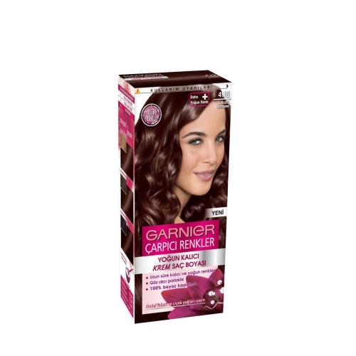 Garnier Çarpıcı Renkler Saç Boyası 4-15 Buzlu Kestane