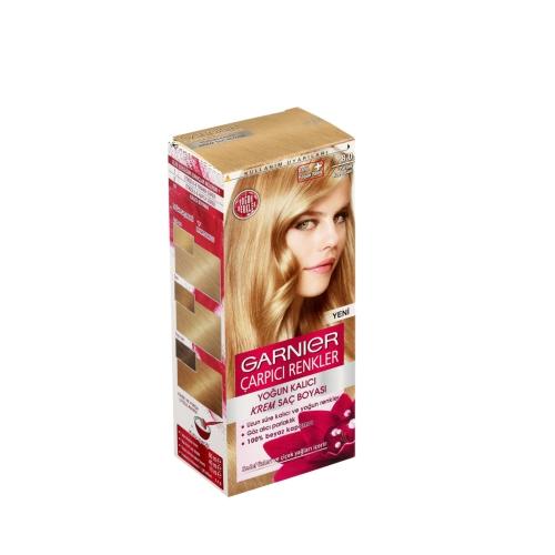 Garnier Çarpıcı Renkler Saç Boyası 8 Parlak Koyu Sarı