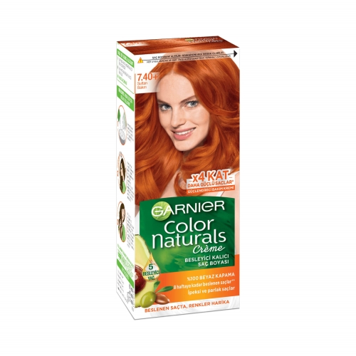 Garnier Color Naturals Saç Boyası 7-40 Sultan Bakırı