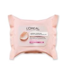 L'Oréal Paris Değerli Çiçekler Makyaj Temizleme Mendili Kuru/Hassas