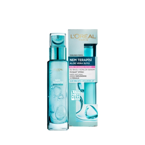 L'Oréal Paris Nem Terapisi Aloe Vera Suyu Kuru ve Hassas Ciltler 70 Ml