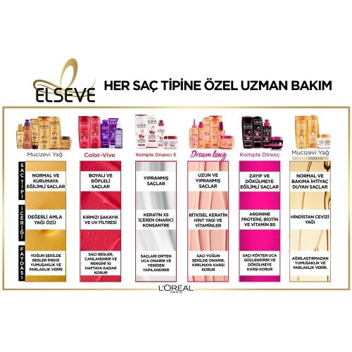 L'Oréal Paris Elseve 6 Mucizevi Yağ Besleyici Şampuan 450 Ml
