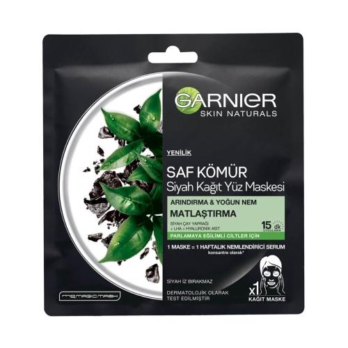 Garnier Saf Kömür Siyah Kağıt Maske Matlaştırıcı