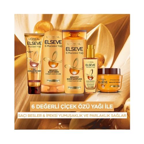 L'Oréal Paris Elseve Saç Güzelleştirici Mucizevi Yağ Kremi Her Saç Tipi 150 Ml