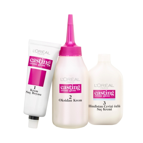 L'Oréal Paris Casting Crème Gloss Saç Boyası 200 Karadut Siyahı