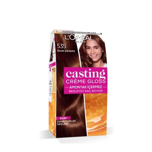 L'Oréal Paris Casting Crème Gloss Saç Boyası 535 Sıcak Çikolata