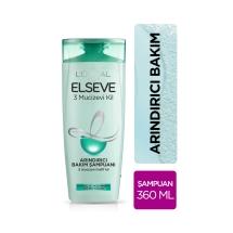L'Oréal Paris Elseve Şampuan 360 Ml 3 Mucizevi Kil Normal ve Yağlanmaya Eğilimli Saçlar