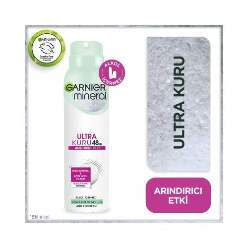 Garnier Mineral Deodorant Ultra Kuru 150 Ml
