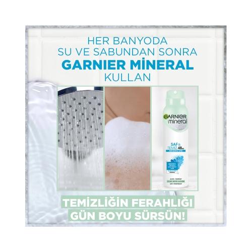 Garnier Mineral Deodorant Saf&Temiz150 Ml