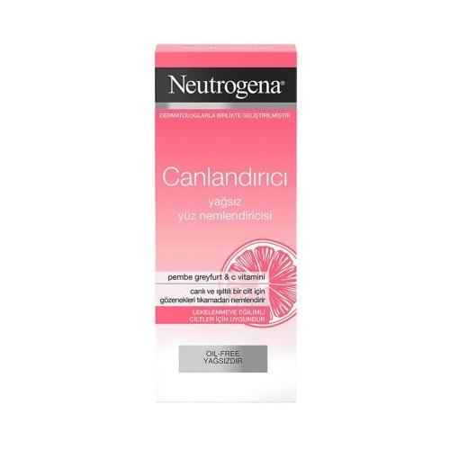 Neutrogena Canlandırıcı Pembe Greyfurt & C Vitamini Yağsız Yüz Nemlendiricisi 50 Ml