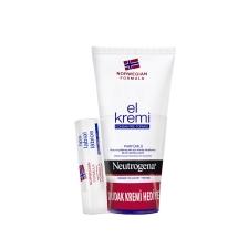 Neutrogena El Kremi Parfümlü 75 Ml+Dudak Nemlendirici Hediye