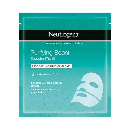 Neutrogena Purifying Boost Detoks Hidrojel Arındırıcı Maske