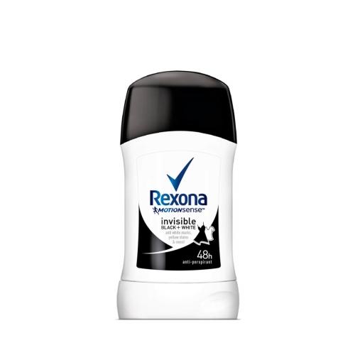 Rexona Deodorant Stick Women Invisible Black+White