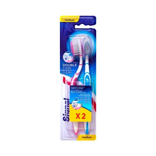 Signal Diş Fırçası Double Care Clean Medium