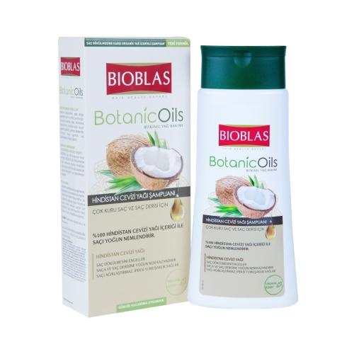 Bioblas Botanic Oils Şampuan Hindistan Cevizi Yağı 360 Ml
