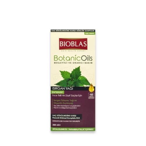 Bioblas Botanic Oils Şampuan Isırgan 360 Ml