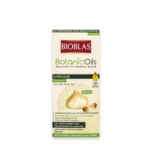 Bioblas Botanic Oils Şampuan Sarımsak 360 Ml