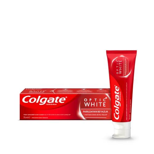 Colgate Optic White Parıldayan Beyazlık Beyazlatıcı Diş Macunu 75 Ml