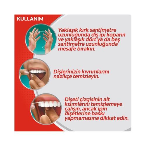 Colgate Total Profesyonel Diş Eti Sağlığı Arayüz Diş İpi 50 m