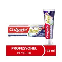 Colgate Total Profesyonel Beyazlık Beyazlatıcı Beyazlatıcı Diş Macunu 75 Ml