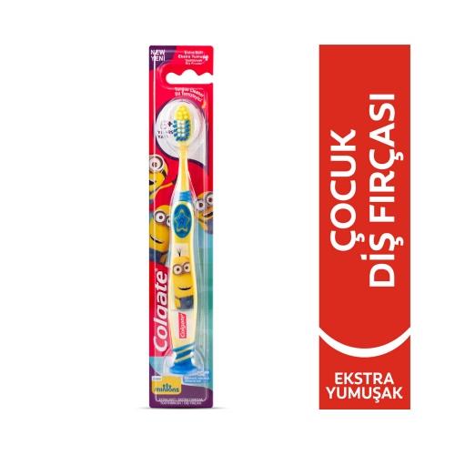 Colgate Minions 6+Yaş Ekstra Yumuşak 0 Çocuk Diş Fırçası