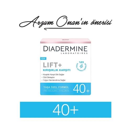 Diadermine Lift+ Kırışıklık Karşıtı 40 Yaş 50 Ml
