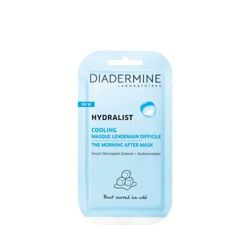 Diadermine Hydralist Maske Cooling The Morning After