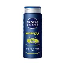 Nivea Energy 24H Fresh Effect Duş Jeli 500 Ml