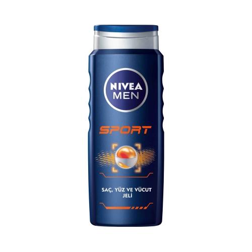 Nivea Duş Şampuanı Sport For Men 500 Ml