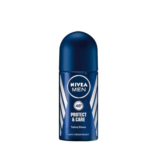 Nivea Deodorant Roll-On Protect Care Erkek 50 Ml