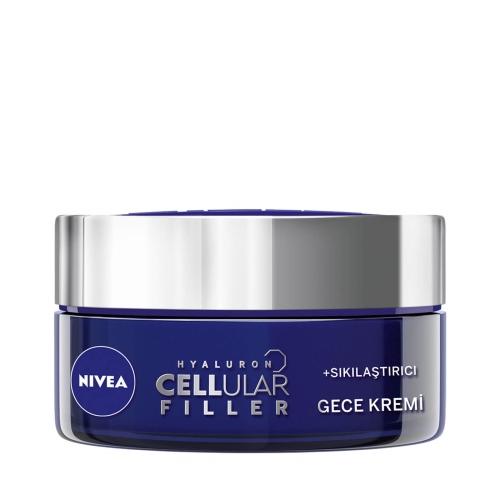 Nivea Hyaluron Cellular Filler + Sıkılaştırıcı Gece Kremi 50 Ml