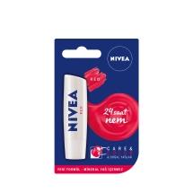 Nivea Lip Care&Colour Kırmızı Renkli