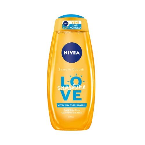 Nivea Dus Jeli Love Sunshine 500 Ml