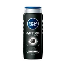 Nivea Duş Şampuanı Active Clean For Men 500 Ml