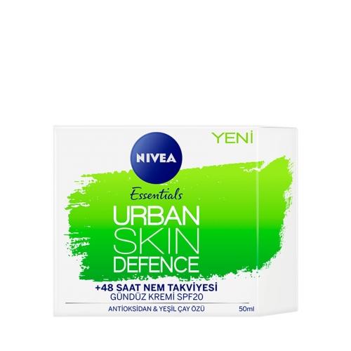 Nivea Urban Skin Defence Gündüz Kremi Spf20 50 Ml