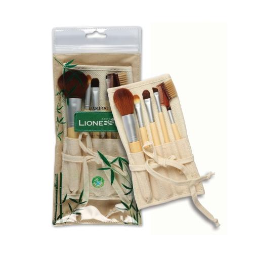 Tarko Lionesse Naturel Bamboo Makyaj Fırçası Seti 326