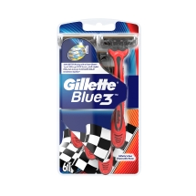 Gillette Blue3 Pride Kullan At Tıraş Bıçağı 6'lı