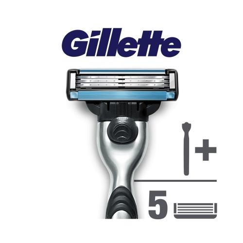 Gillette Mach3 Milli Takım Özel Paketi Tıraş Makinesi + 4'lü Tıraş Bıçağı