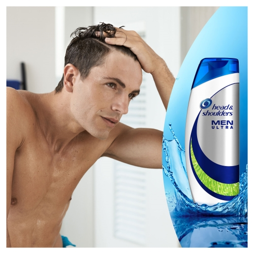 Head&Shoulders Men Ultra Erkeklere Özel Şampuan Maksimum Yağlanma Kontrolü 360 Ml