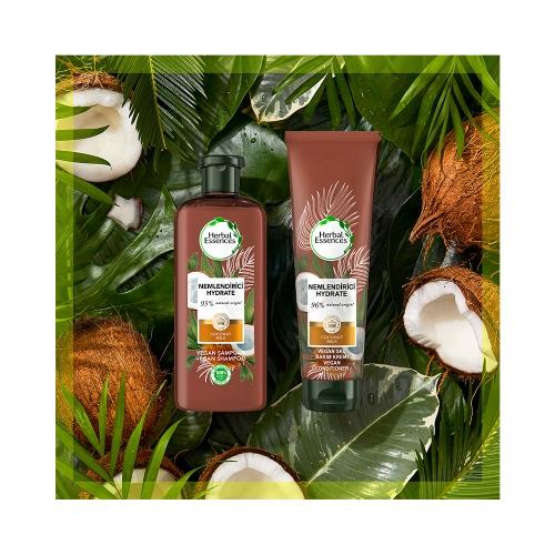 Herbal Essences Bio:Renew Hindistan Cevizi Sütü Nemlendirici Saç Bakım Kremi 360 Ml