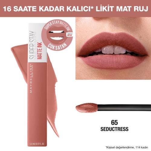 Maybelline New York Super Stay Matte Ink Liquid 65 Seductress