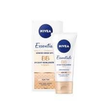Nivea Essentials BB 24 Saat Nemlendirme + Işıltı Açık Ton Gündüz Kremi 50 Ml
