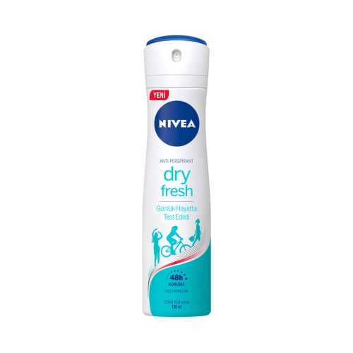 Nivea Deodorant Sprey Dry Fresh Kadın 150 Ml