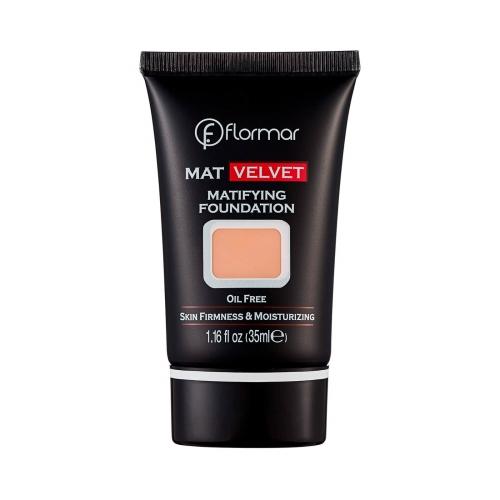 Flormar Mat Velvet Matifying Fondöten V208