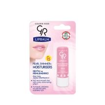 Golden Rose Lip Balm Mousturizing Pearl Shimmer