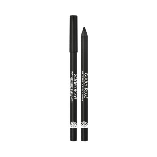 Golden Rose Waterproof Eyeliner Longwear&Soft Ultra Black
