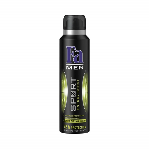 Fa Deodorant Men Sport Energy Boost 150 Ml
