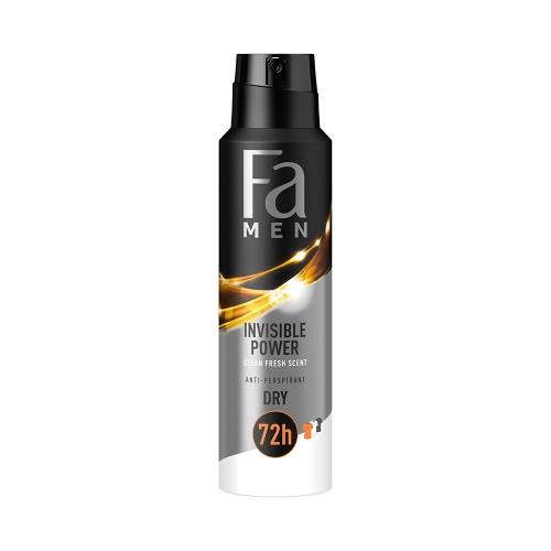 Fa Deodorant Men Invisible 150 Ml